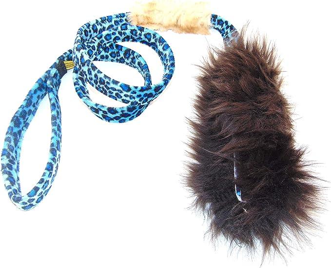 Juguete para perro DINGO cazador de piel de oveja con correa violeta larga 130 cm arrastrador de recompensa motivaci/ón agilidad para entrenamiento y diversi/ón 15582