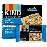 KIND Healthy Grains Bars, Vanilla Blueberry, Gluten Free, 35 Grams, 5 Count