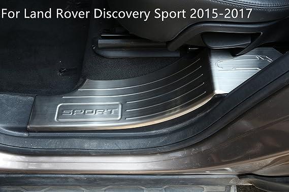 Auto Edelstahl Innen Dekoration Welcome Pedal Integrierter Schwelle Streifen Trim Zubehör Für Discovery Sport 2015 2017 Auto