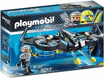 Opinión sobre PLAYMOBIL Agentes Secretos Mega Drone, Color Negro (9253)
