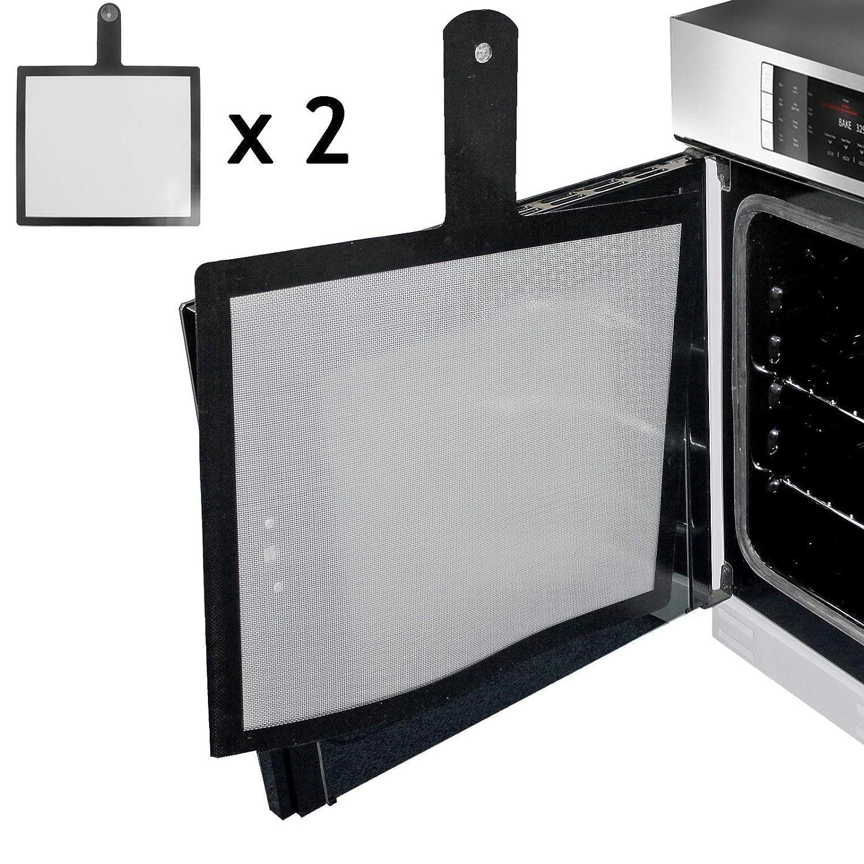 Spares2go - Protector universal para puerta de horno (480 x 400 mm ...