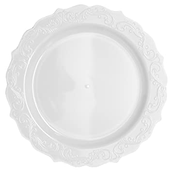 Amazon.com: Posh Setting Elegant Collection 40 Pack China Look 10.25 ...