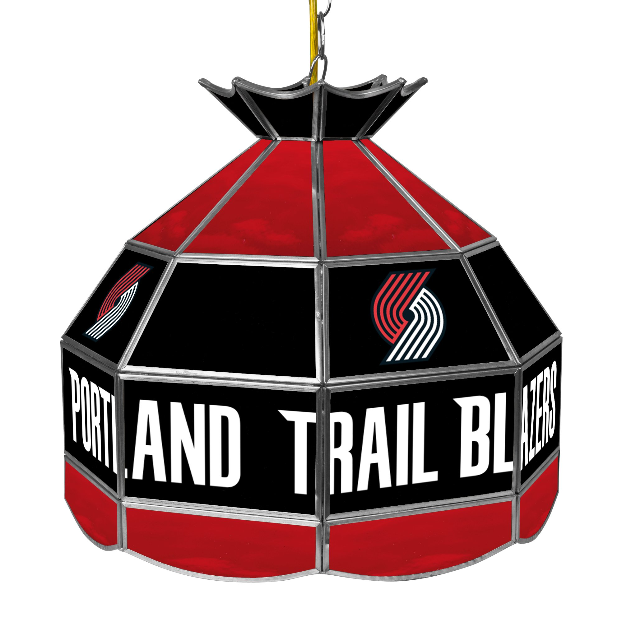 NBA Portland Trailblazers Tiffany Gameroom Lamp, 16'' by Trademark Gameroom