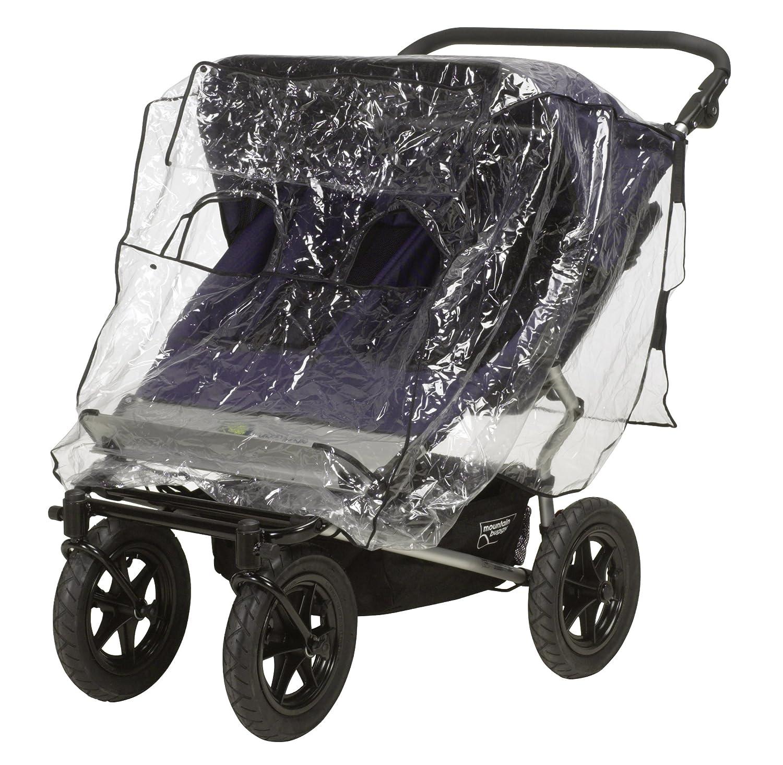 Playshoes 448922 Regenverdeck, Regenschutz, Regenhaube fü r Geschwisterbuggy/Tandemwagen mit Kontaktfenster