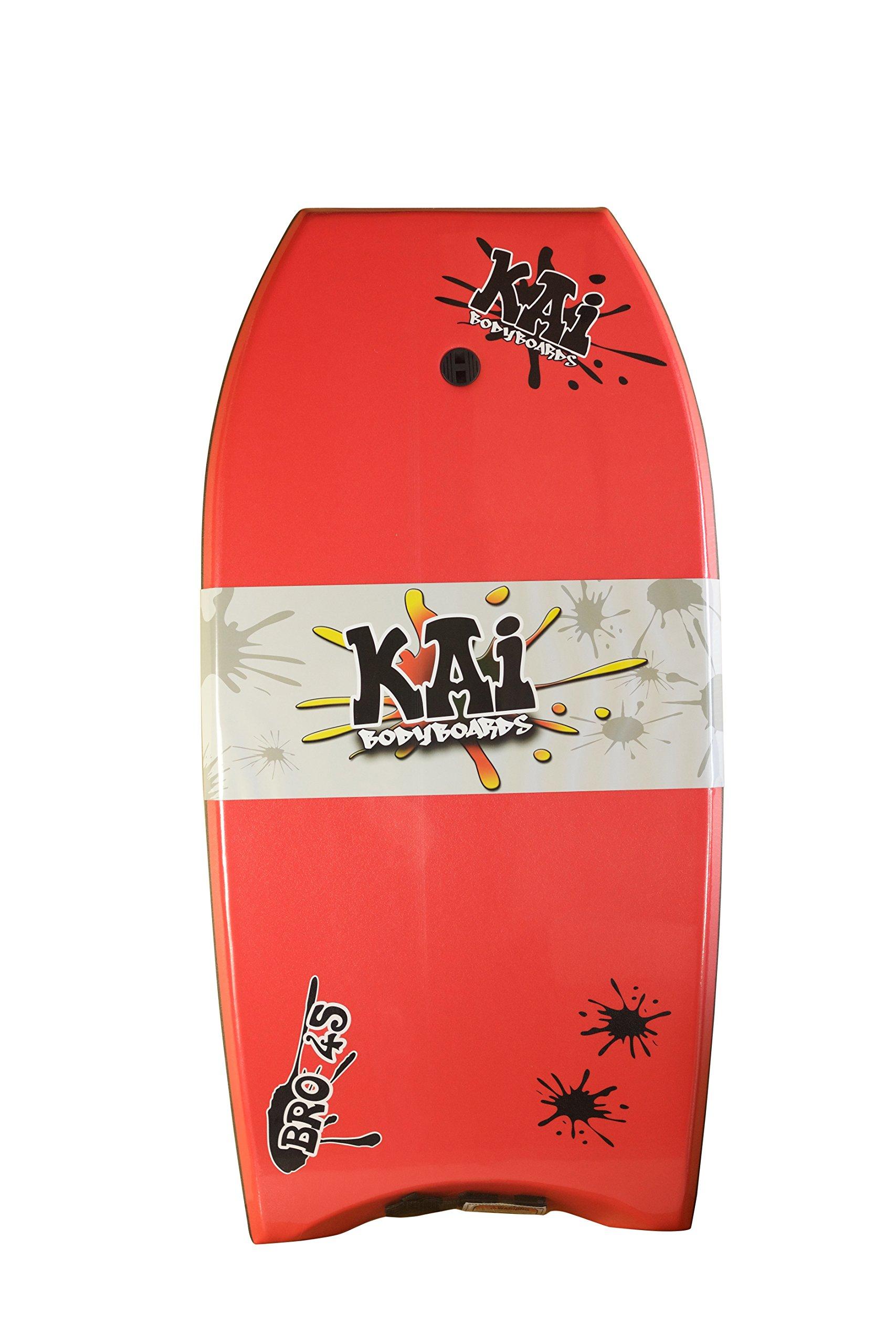 Kai Bodyboards Bro 45'' (Red w/Black Rails)