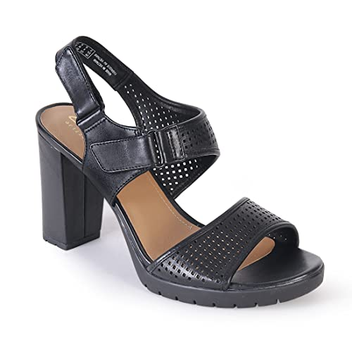 4a39beac605a Clarks Pastina Estate Leather Sandals In Black Standard Fit Size 4   Amazon.co.uk  Shoes   Bags