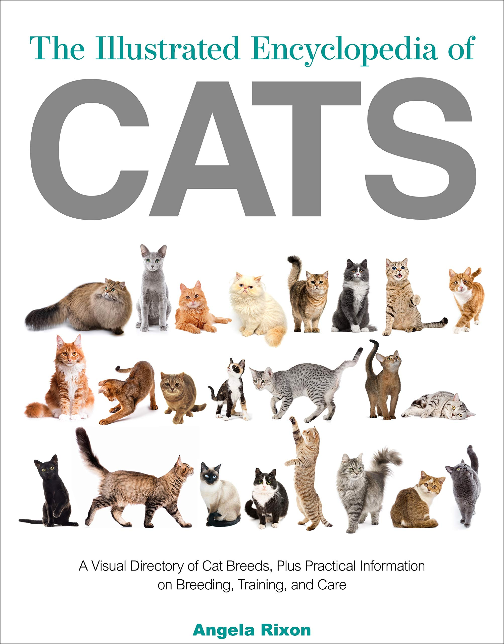 The Illustrated Encyclopedia Of Cats A Comprehensive Visual Directory Of All The World S Cat Breeds Plus Invaluable Practical Information On Breeding Training Care And Showing Rixon Angela 9780785838296 Amazon Com Books
