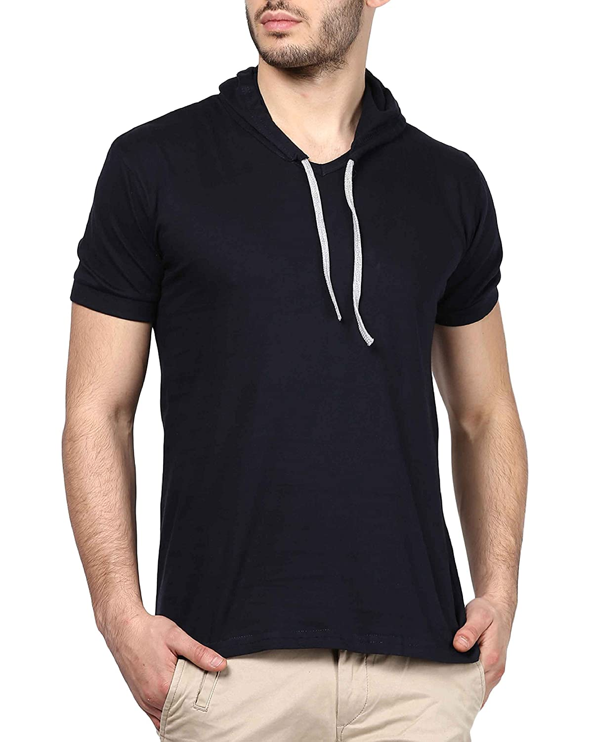 9efd5f4bb6 Combine the T shirts with Jeans or Lowers to complete your look. Sleeve  Type: Half Sleeve ; Neck type VNeck: Fitting ...