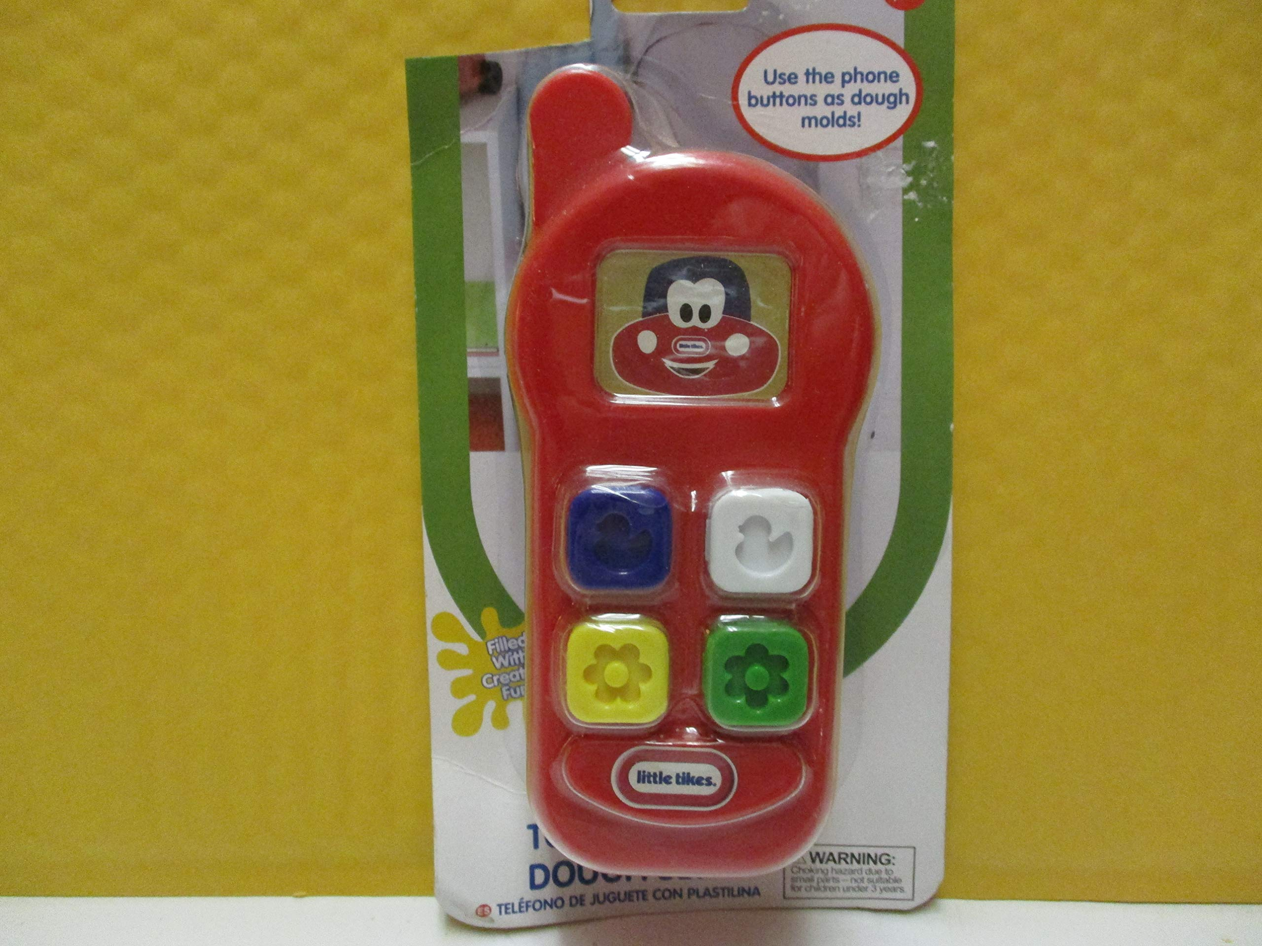 Toy Phone Dough Set Use The Phone Buttons as Dough Molds by Unknown
