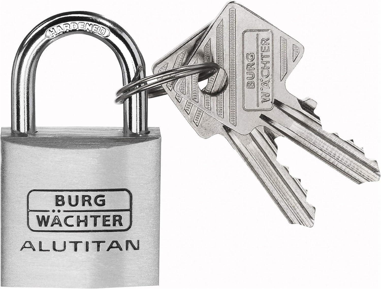 6 Schl/üssel 6,5 mm B/ügelst/ärke TRIO 770 40 SB BURG-W/ÄCHTER Vorh/ängeschl/össer 3 Schl/össer