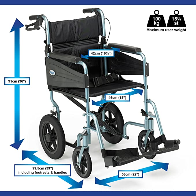 Days Escape Lite Aluminium Wheelchair image 2
