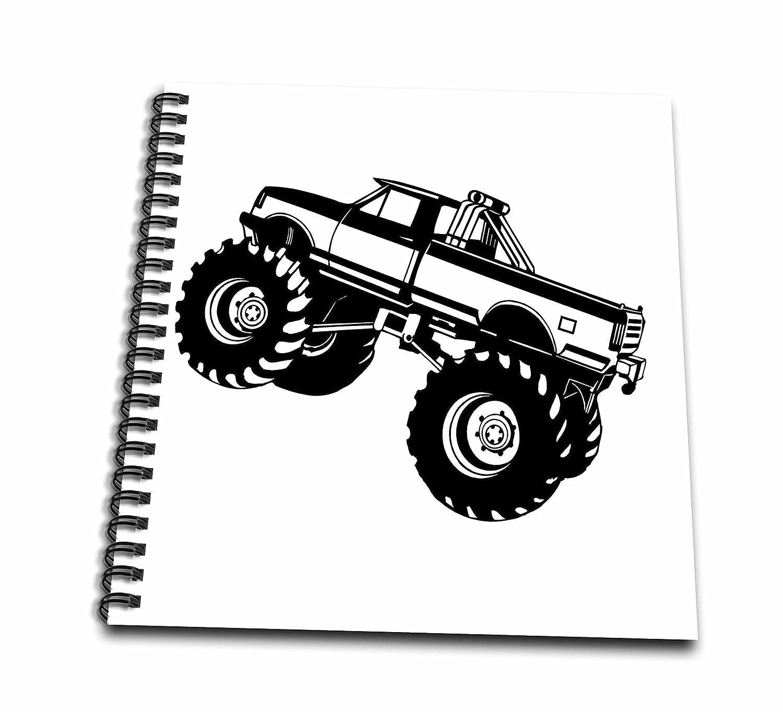 evadane - Signs - Monster Truck - Zeichnen Buch 8x8 drawing book ...