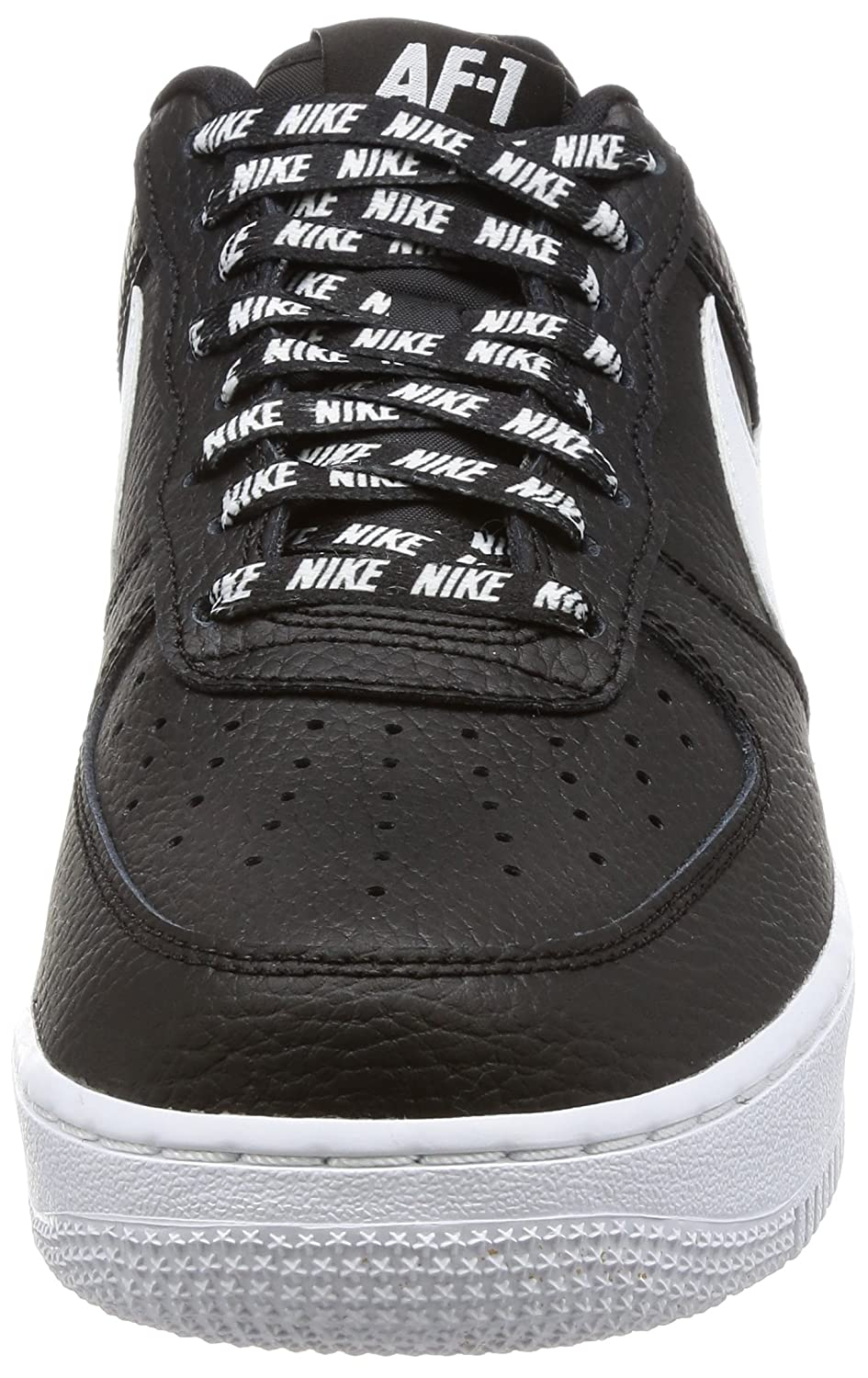 Nike Men s Air Force 1  07 LV8 Black White Basketball Shoe 13 Men US  Buy  Online at Low Prices in India - Amazon.in b696f70a0