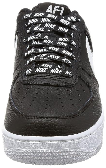 bc11dd79f721f Nike Men's Air Force 1 '07 LV8 Black/White Basketball Shoe 9.5 Men US:  Amazon.in: Shoes & Handbags