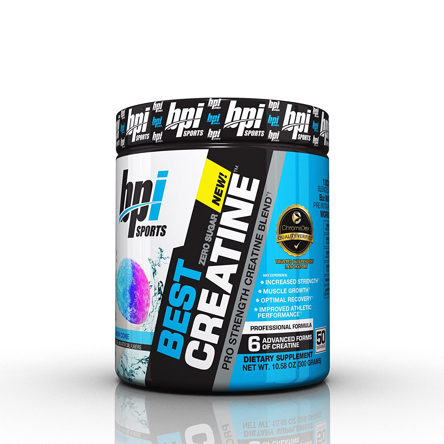 BPI Sports Best Creatine Supplement Snow Cone 1058 Ounce Amazonca Health Personal Care