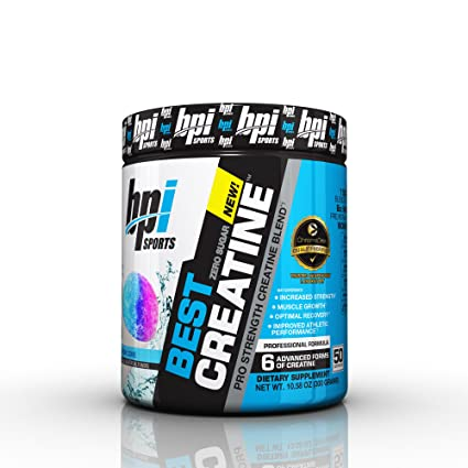BPI Sports Best Creatine Supplement Snow Cone 1058 Ounce