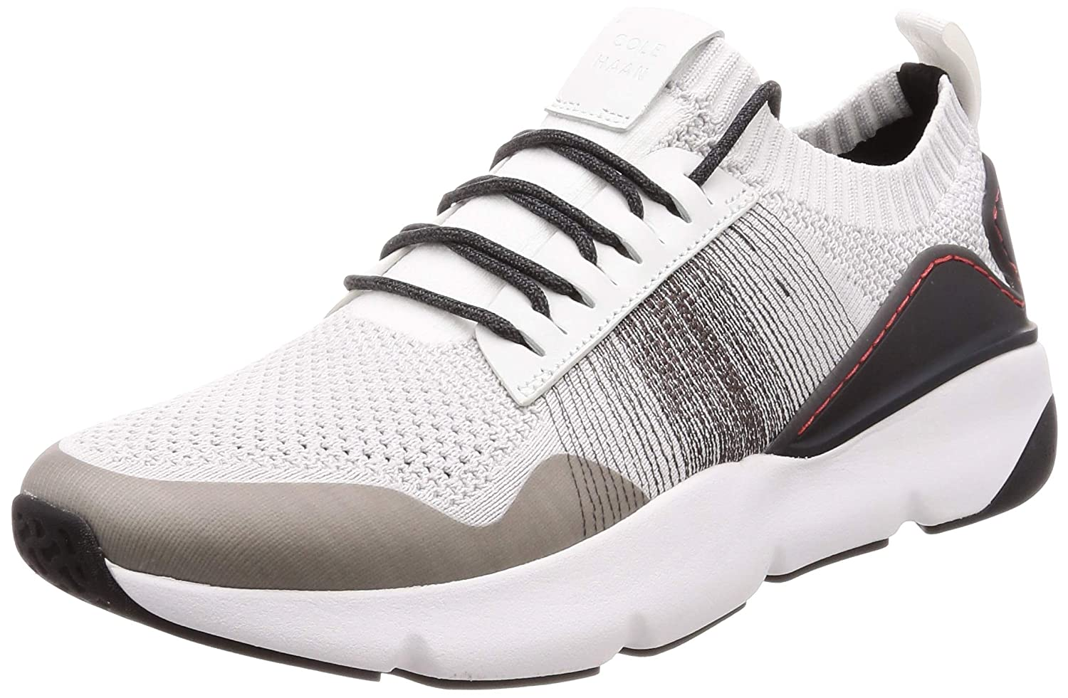 Optic White Nimbus Cloud Pavement Ivory Cole Haan Men's Zerogrand All Day Trainer with Stitchlite