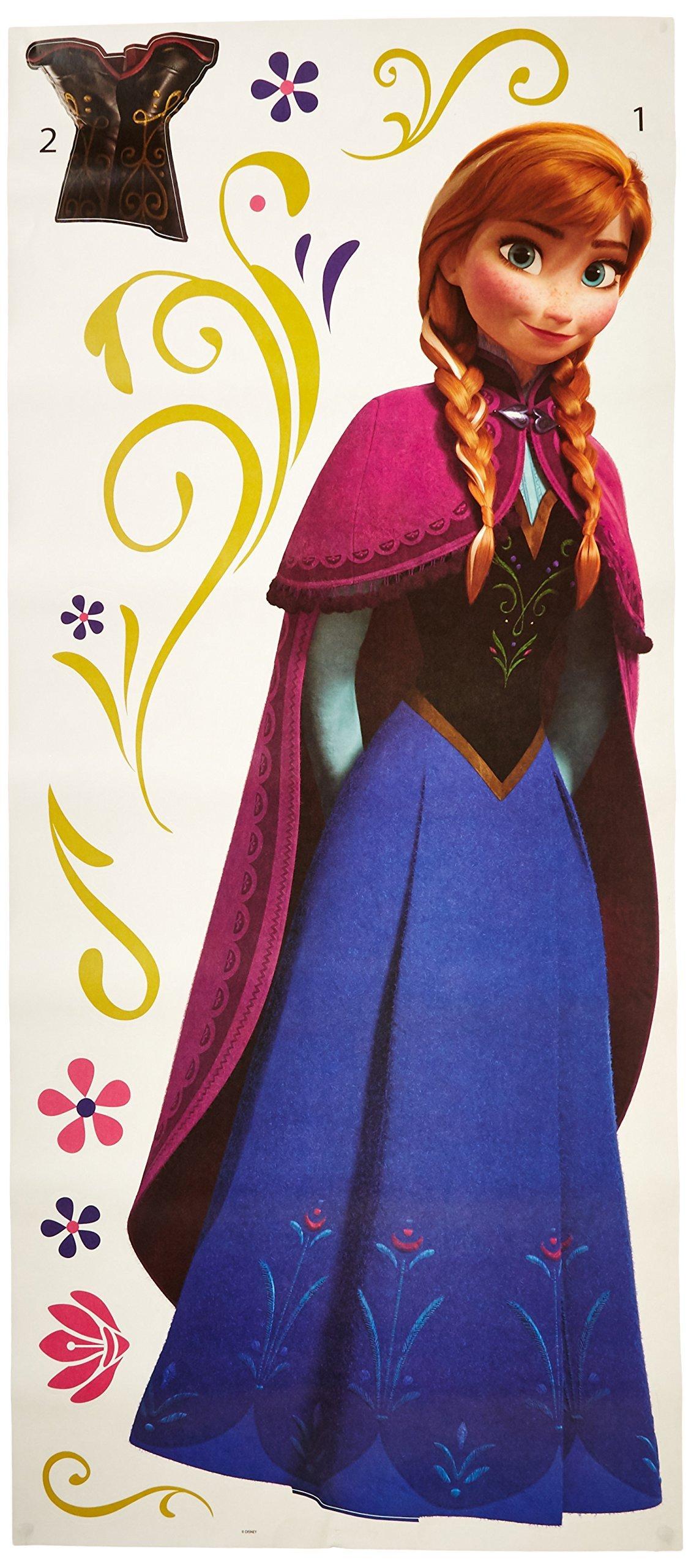 Vinilo Decorativo Pared [0MBPC9VU] Frozen Anna