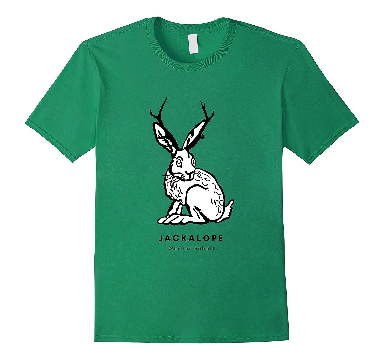 Jackalope Warrior Rabbit-4LVS