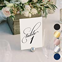 bliss paper boutique classic table numbers - Table Place Cards