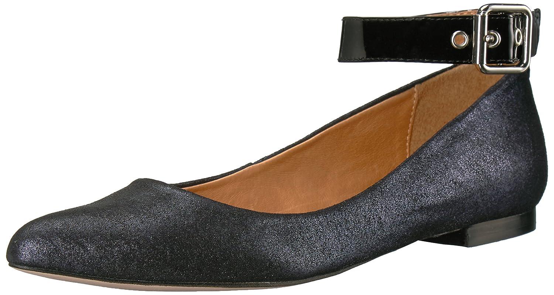 Opportunity Shoes - Corso Como Women's Ramona Ballet Flat B06WD8BP6C 8 B(M) US|Navy Metallic Suede