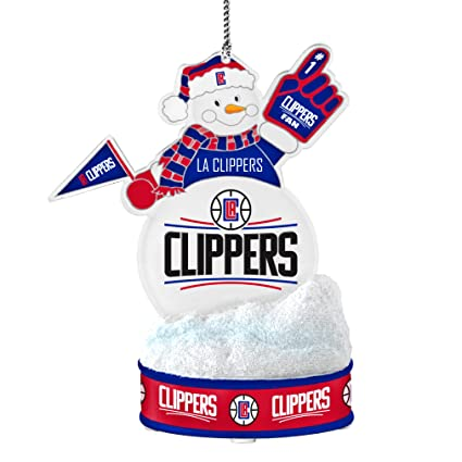 Amazon.com   NBA Los Angeles Clippers LED Snowman Ornament   Sports ... 4a61ecd90