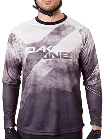 DAKINE Black-White 19W Thrillium Long Sleeved MTB Jersey  Dakine   Amazon.co.uk  Sports   Outdoors fe78f1470