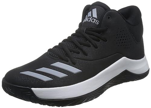 adidas Court Fury 2017, Zapatillas de Baloncesto para Hombre, Negro (Negbas/Gridos/Ftwbla), 45 1/3 EU: Amazon.es: Zapatos y complementos