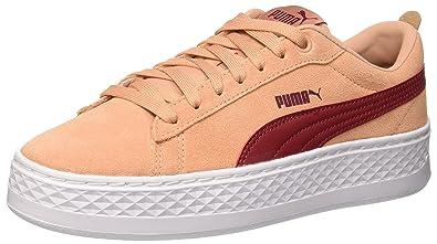 Puma Damen Smash Platform SD Sneaker, Pink (Dusty Coral-Pomegranate), 36 4c28c8cb52