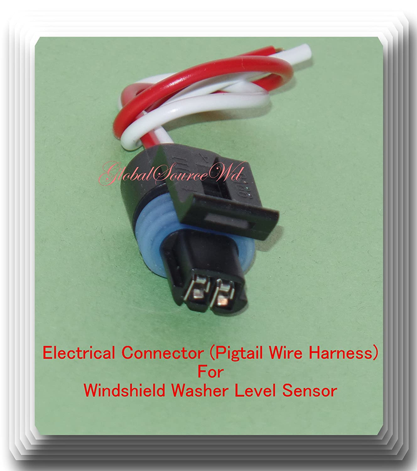 Fls114 Windshield Washer Level Sensor With Electrical 2007 Cadillac Xlr Wiring Harness Connector Pigtail Wire Fits 2004 Chevrolet Corvette