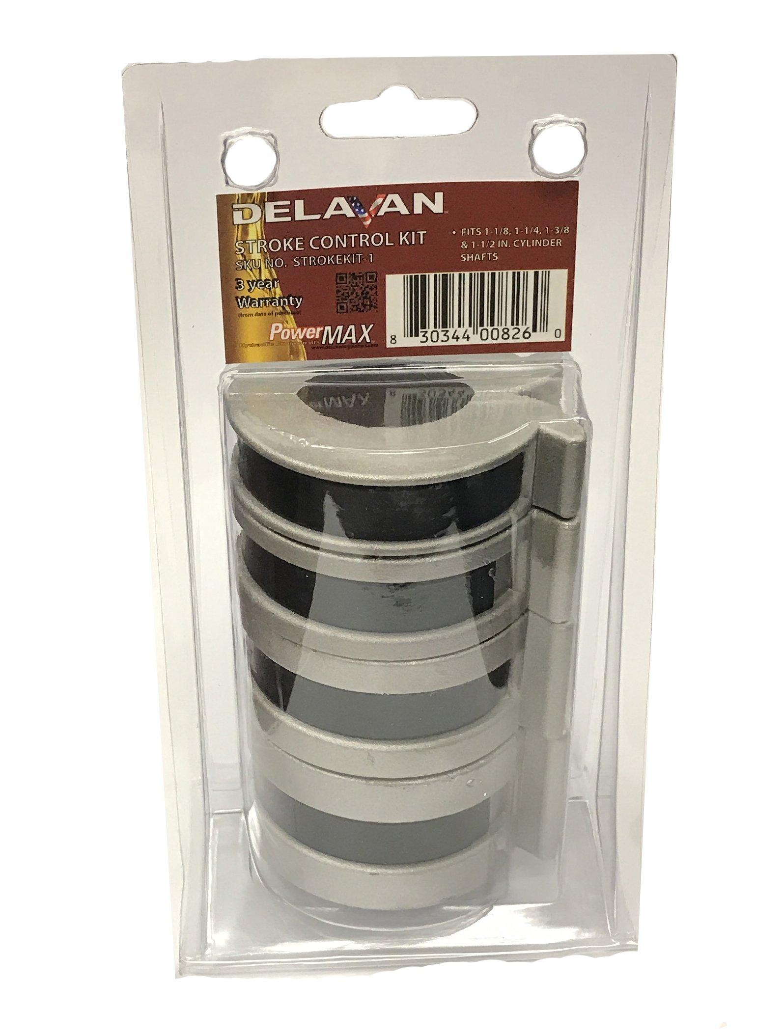 Delavan PowerMAX Stroke Control Kit 1 Fits: 1-1/8, 1-1/4, 1-3/8, 1-1/2 Cylinder Shafts