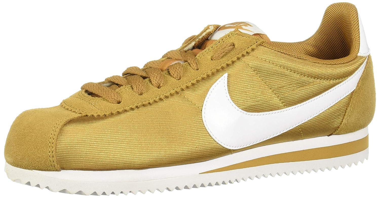 MultiCouleure (Muted Bronze blanc 202) Nike WMNS Classic Cortez Nylon, Chaussures de Running Compétition Femme 44.5 EU