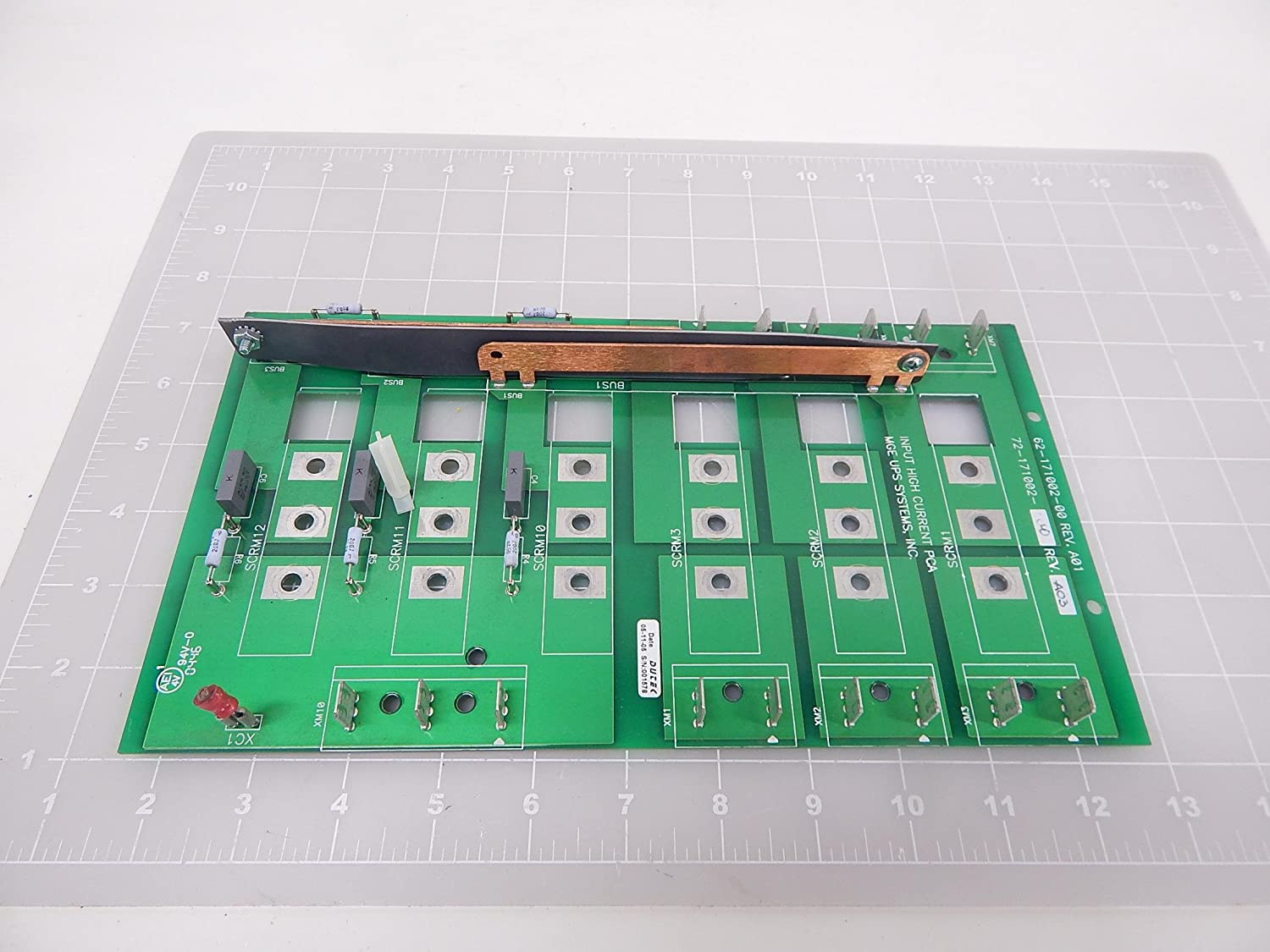 MGE UPS Systems 62-171002-00, 72-171002-00 Input High Current PCA Board T91417