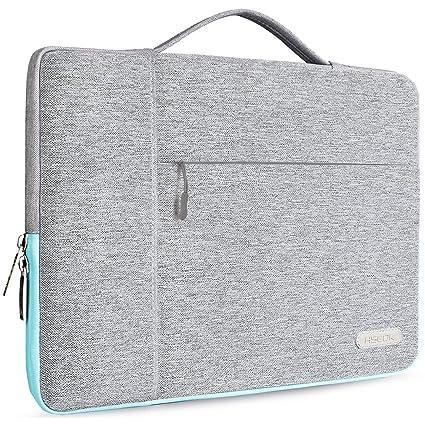 HSEOK Maletin Portatil 15,6 Pulgadas Funda Protectora para 15-15,6 Pulgadas Laptop Ultrabook Netbook, DELL HP Lenovo Acer Ausu Samsung Toshiba y más, ...
