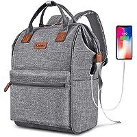 BRINCH Laptop Backpack 15.6 Inch Wide Open Computer Backpack Laptop Bag College Rucksack Water Resistant Business Travel…
