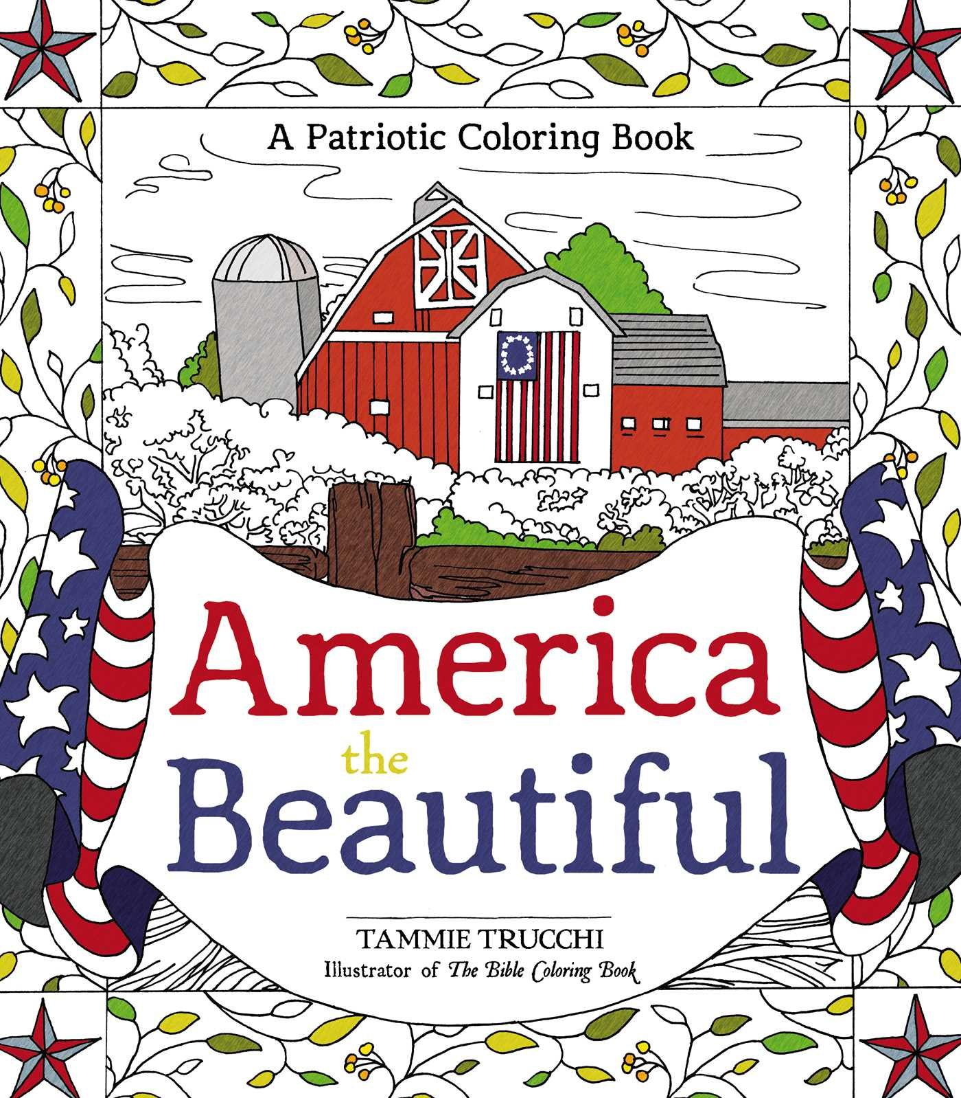 America the Beautiful: A Patriotic Coloring Book