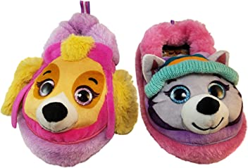 63bb173aaa6c Paw Patrol Slippers for Girls with Skye and Everest