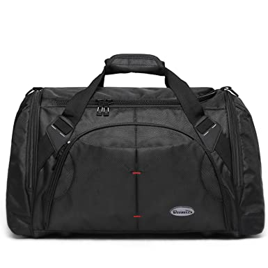 Amazon.com | Men Gym Bag Duffel Weekender Tote Overnight for ...