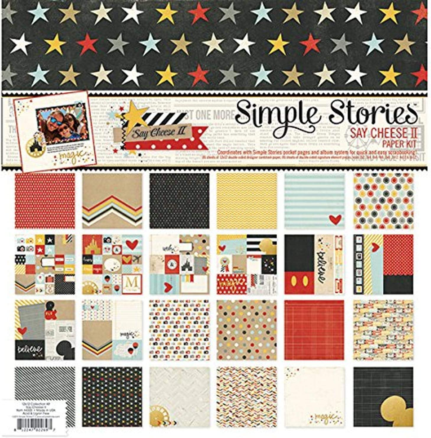 "Expecting Simple Stories Simple Sets Collection Kit 12/""x12/""-oh Baby"