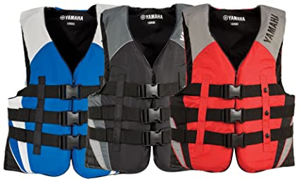 Amazon Com Yamaha Men S Value Nylon Life Jacket Vest Pfd Mar 12v3b