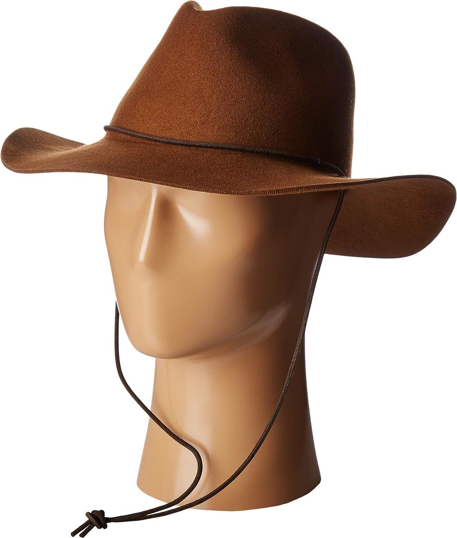 108a6568 Pendleton Men's Heather Fedora Hat, Whiskey, L/XL at Amazon Men's Clothing  store: