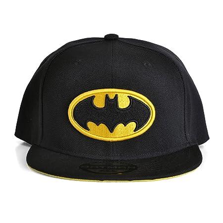 3472f0fe85878 Batman - Classic Logo Snapback Cap Gorra - Negra  Amazon.es  Juguetes y  juegos
