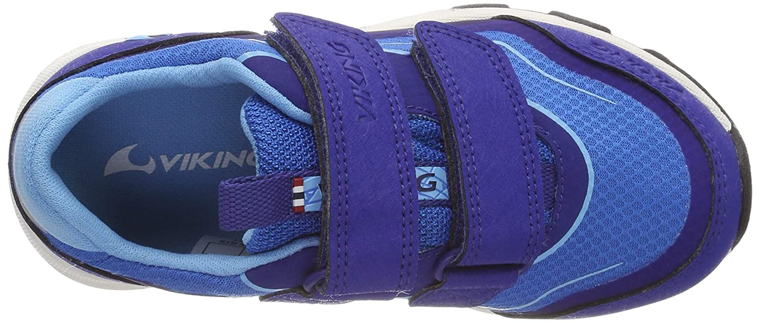 Viking Evanger Low GTX Chaussures de Cross Mixte Enfant