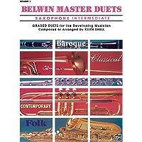 Belwin Master Duets (Saxophone), Vol 2: Intermediate