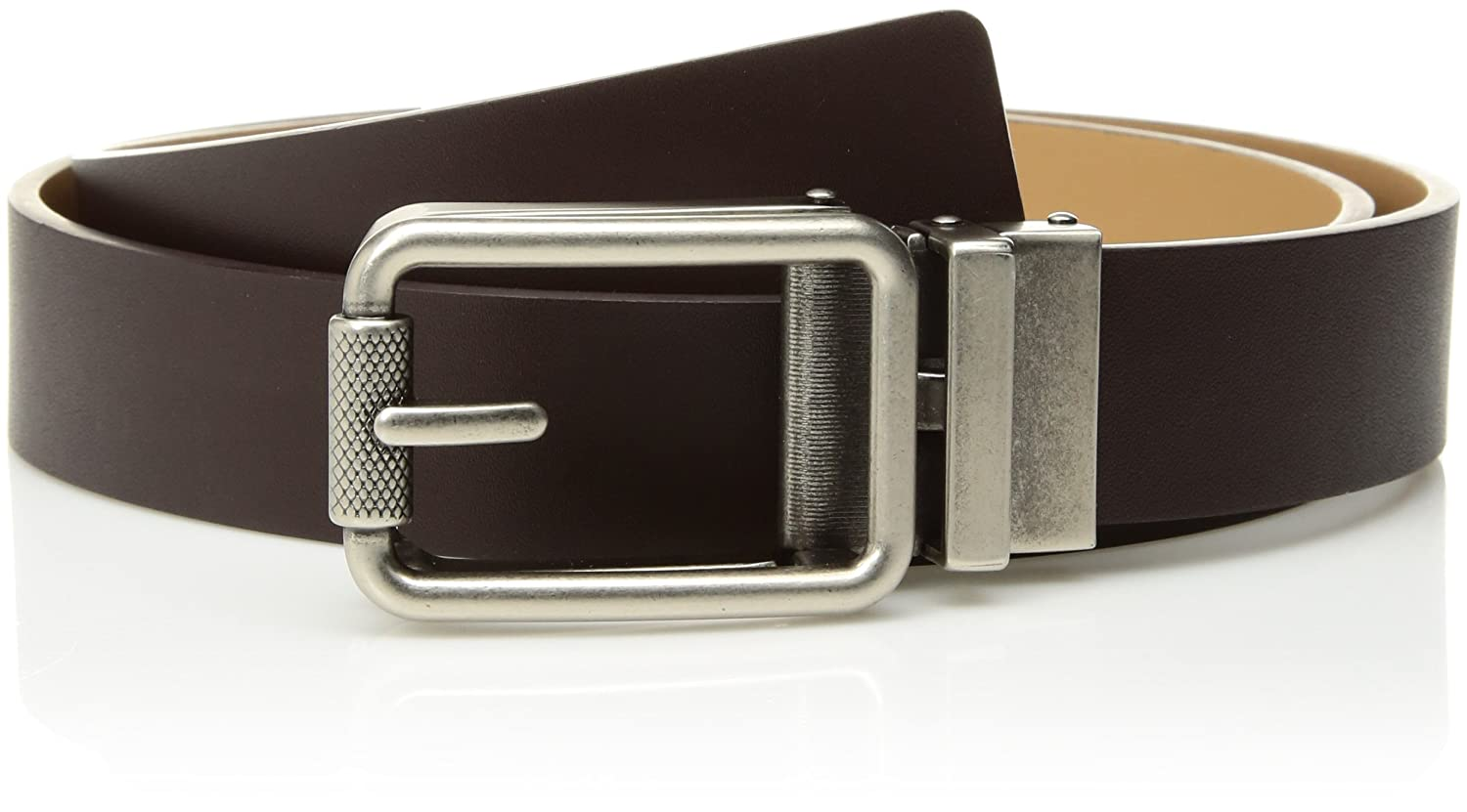 Comfort Click Boy's Adjustable Perfect Fit Pebble Leather Belt - As Seen On Tv ONE SIZE CC10014B
