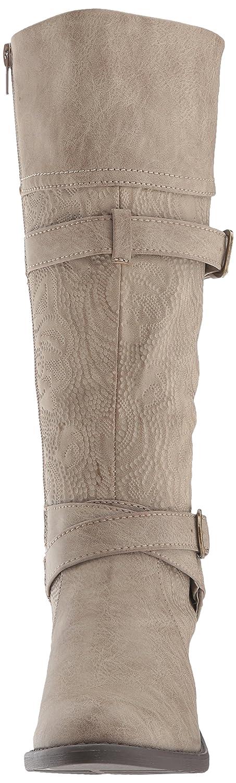 Easy Street Women's Kelsa Harness Boot B0717BF6SV 7 N US|Taupe/Embossed