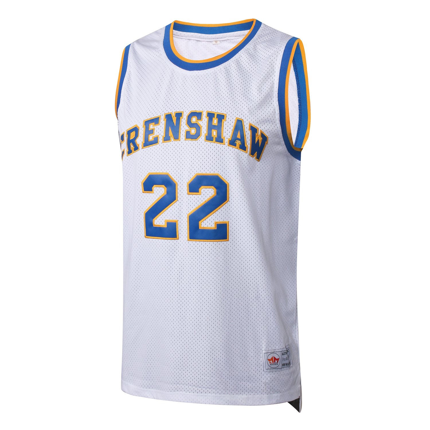 2bf5b801b421 Amazon.com  MM MASMIG Quincy McCall 22 Crenshaw High School Basketball  Jersey Stitched White Love and Basketball S-XXXL White  Clothing