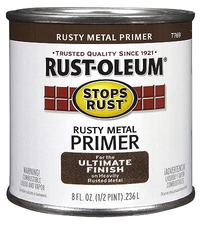 Rustoleum 50 Pint Rusty Metal Primer Protective Enamel Oil