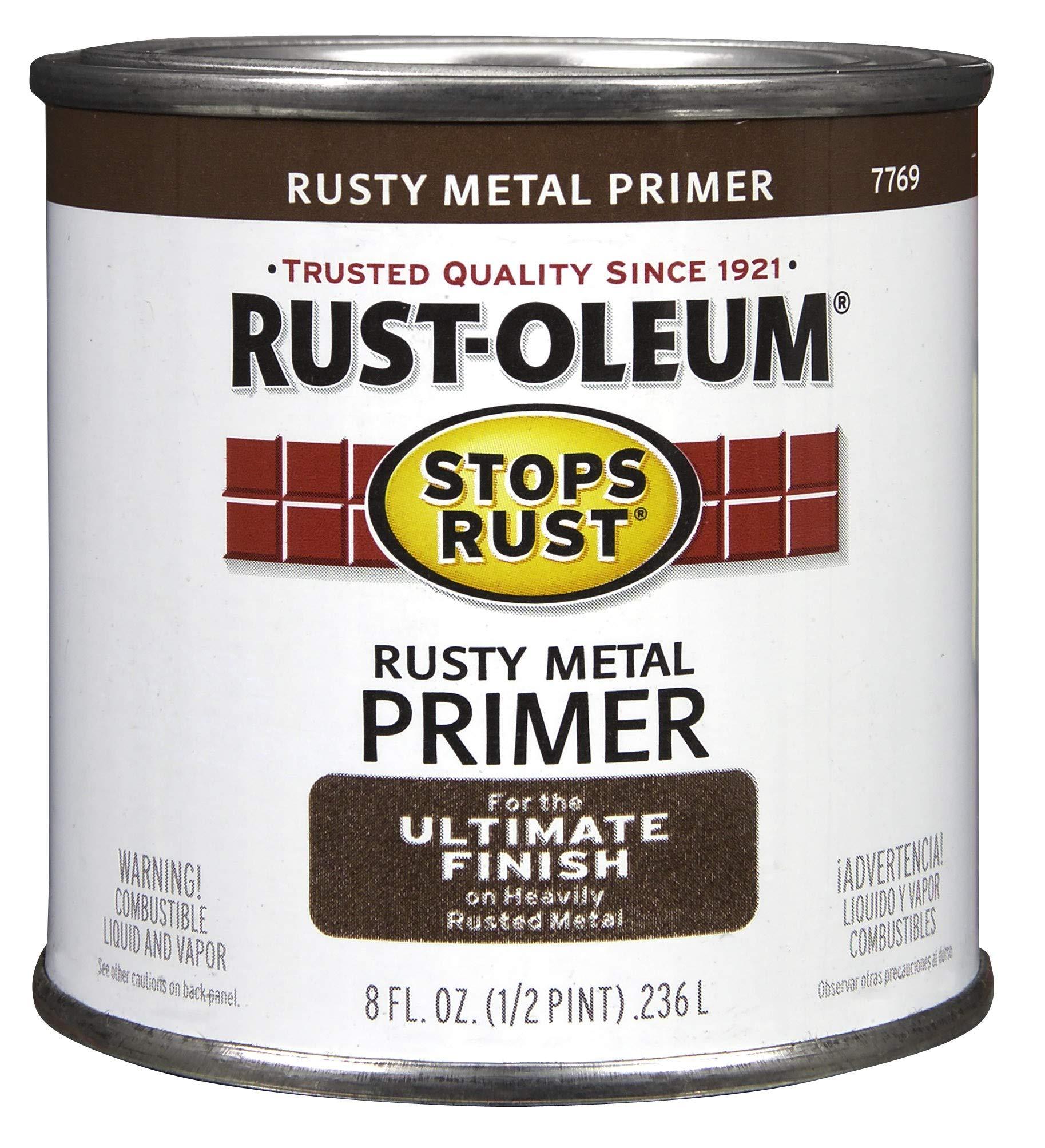 Rust-Oleum 7769730 High Performance Rusty Metal Primer