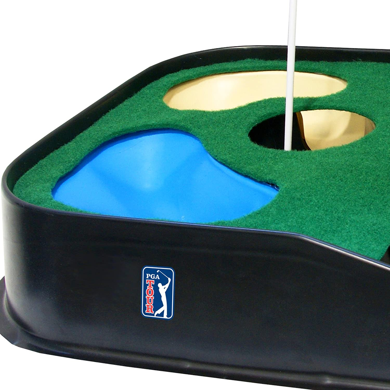 PGA Tour Indoor & Outdoor Golf Putting Mat: Amazon.co.uk: Sports ...